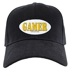 Gamer Black Cap