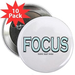 "Focus 2.25"" Button (10 pack)"