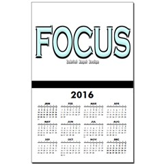Focus Calendar Print