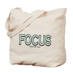 Focus Canvas Tote Bag