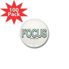 Focus Mini Button (100 pack)