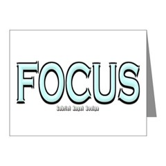 Focus Note Cards (Pk of 20)