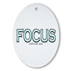 Focus Oval Ornament