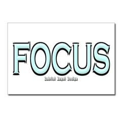 Focus Postcards (Package of 8)