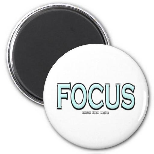 Focus Refrigerator Magnets