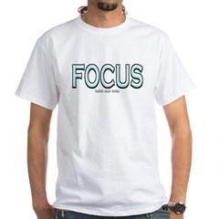 Focus White T-Shirt