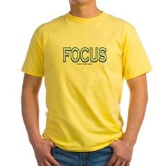 Focus Yellow T-Shirt