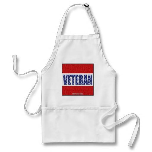 Veteran Banner Adult Apron