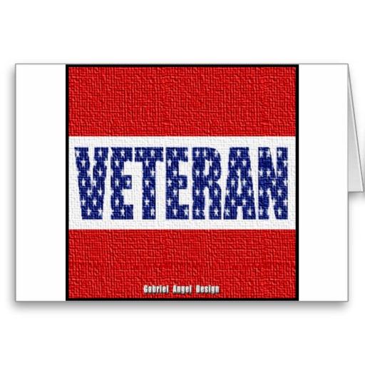Veteran Banner Greeting Card