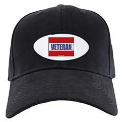 Veteran Flag Banner Baseball Hat