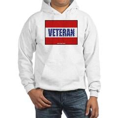 Veteran Flag Banner Hooded Sweatshirt