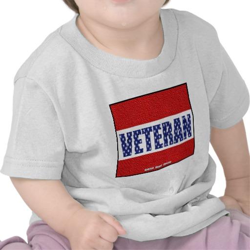Veteran Flag Banner Infant T-Shirt
