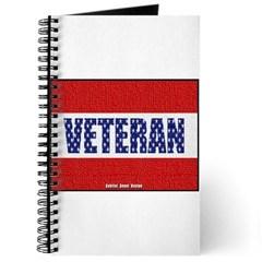 Veteran Flag Banner Journal