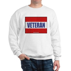 Veteran Flag Banner Sweatshirt