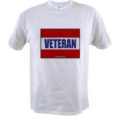 Veteran Flag Banner Value T-shirt