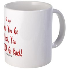 OJ Says: Once You Go Black, You NEVER Go Back! Coffee Mug