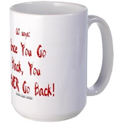 Once You Go Black Mug