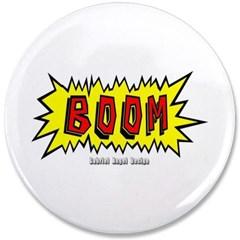 """Boom 3.5"""" Button"""