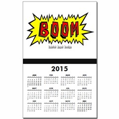 Boom Calendar Print