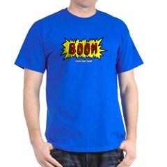 Boom Cartoon Blurb Dark T-shirt