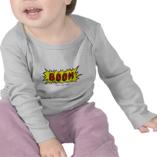 Boom Cartoon Blurb Infant Bella Long Sleeve T-Shirt