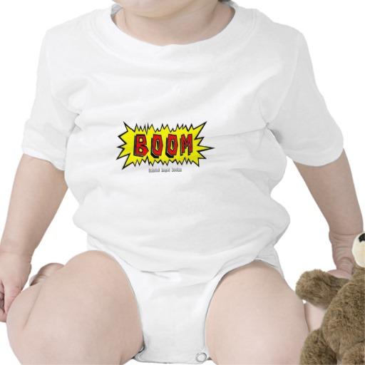 Boom Cartoon Blurb Infant Creeper