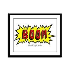Boom Framed Panel Print