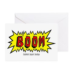 Boom Greeting Cards (Pk of 20)
