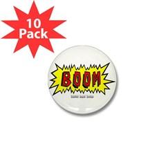 Boom Mini Button (10 pack)