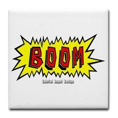 Boom Tile Coaster
