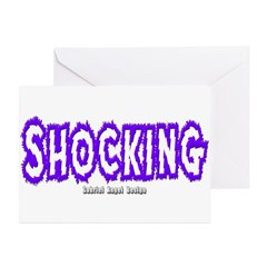 Shocking Greeting Cards (Pk of 20)