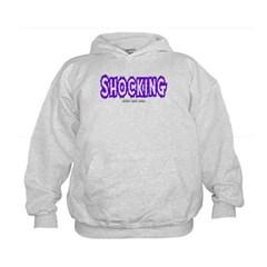Shocking Logo Kids Sweatshirt by Hanes