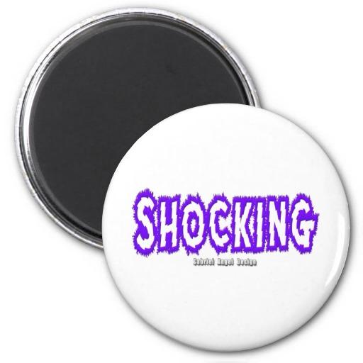 Shocking Logo Magnets