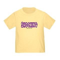 Shocking Logo Toddler T-Shirt
