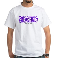 Shocking Logo White T-Shirt