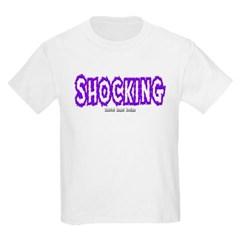 Shocking Logo Youth T-Shirt by Hanes