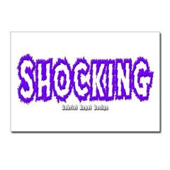 Shocking Postcards (Package of 8)