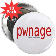 "pwnage 2.25"" Button (10 pack)"