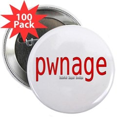 "pwnage 2.25"" Button (100 pack)"