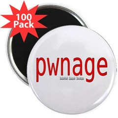 "pwnage 2.25"" Magnet (100 pack)"