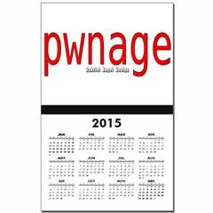pwnage Calendar Print