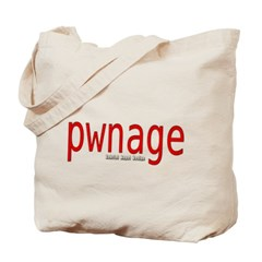 pwnage Canvas Tote Bag