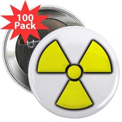 "Radioactivity 2.25"" Button (100 pack)"