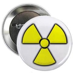 """Radioactivity 2.25"""" Button"""