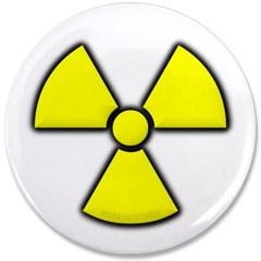"""Radioactivity 3.5"""" Button"""