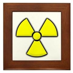 Radioactivity Framed Tile