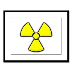 Radioactivity Large Framed Print
