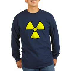 Radioactivity Long Sleeve Dark T-Shirt