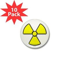 Radioactivity Mini Button (10 pack)