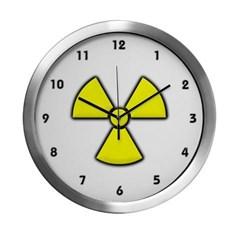 Radioactivity Modern Wall Clock